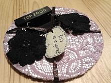 pomysł na prezent, podkładki i kolczyki :) DIY
