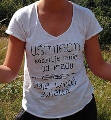 """Koszulka z napisem: """"U..."""