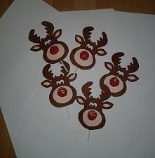 Rudolf czerwononosy lizak- renifer   aniaes20@gmail.com