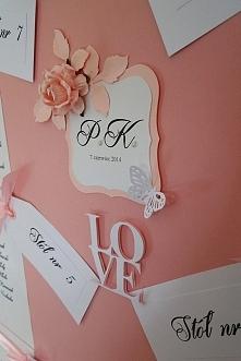 Przepiękna tablica ślubna  ...
