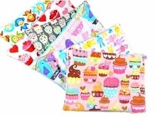 Mięciutkie podusie minky, idealne dla dzieci. Mnóstwo wzorów i kolorów do wyboru. Dostępne w sklepie VAYLE
