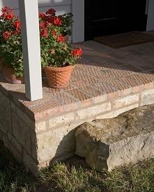 antypoślizgowe cegły