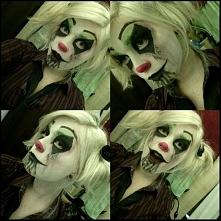 Stylizacja na halloween - klaun
