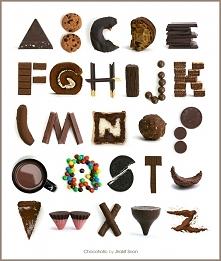 czekoladowy alfabet