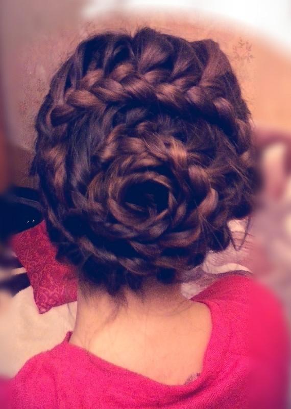 wspaniała fryzura