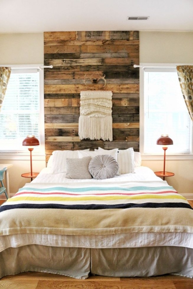 Drewno Jako Dekoracja W Sypialni Jakoś Tak Robi Się Od