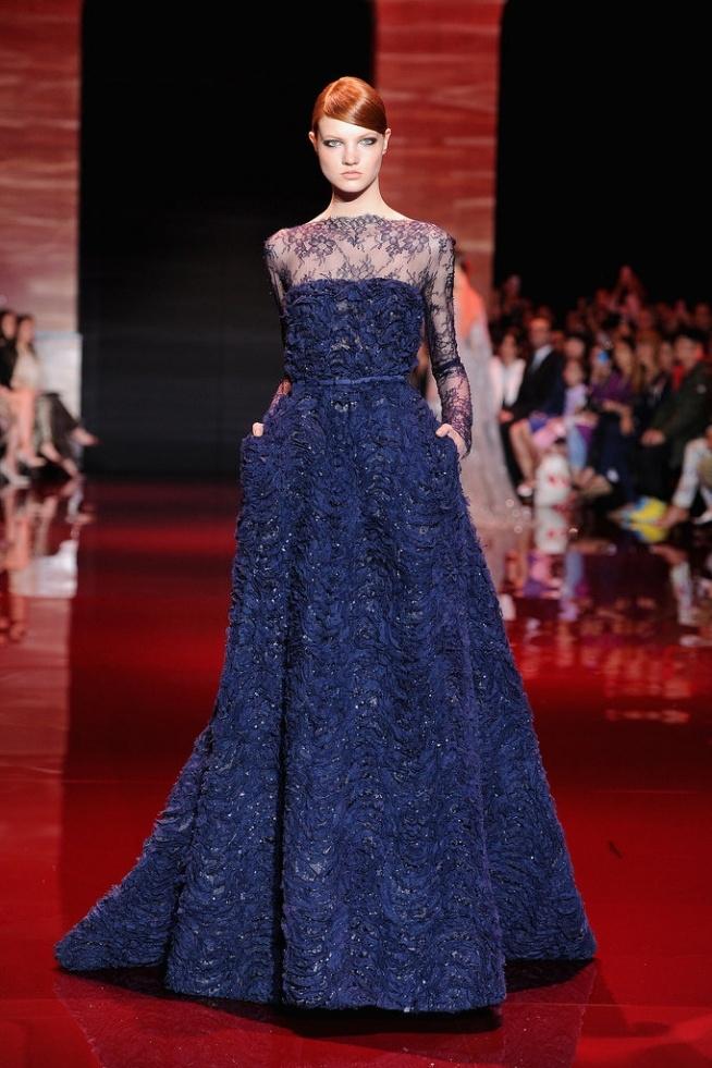 *** Elie Saab Haute Couture Jesień 2013 ***
