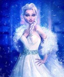 Elsa jako fashionistka