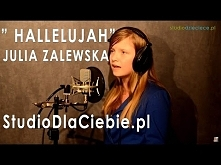 Hallelujah (po polsku) cover by Julia Zalewska Cudowny głos ^^
