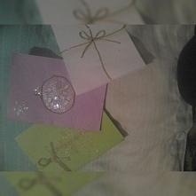 kilka kartek świątecznych - proste a jednak bardzo ładne