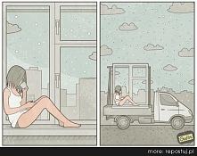 jak miło usiąść w oknie i n...