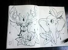 moje propozycje na tatuaż :-)