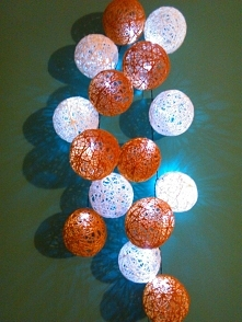 Lampki ze sznurka - wersja ...