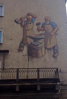 Ciekawa mozaika - murale Wrocław