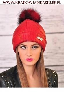 czapka na zimę  krakowianka...