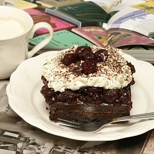 ...ciasto czekoladowe...
