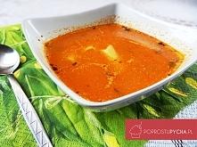 Aromatyczna zupa pomidorowa z curry i makaronem ;) Przepis krok po kroku po k...