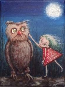 Jola i Horacy  To już kolejne spotkanie Joli i Horacego. Nocą. W świetle księżyca. Horacy nie jest pewien, czy może czuć się bezpiecznie... A ty ? jak myślisz? Co kluje się w gł...
