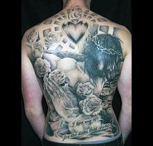 tatuaże religijne Jezus Chrystus