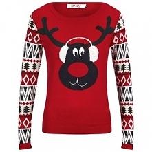 Aztec Reindeer Christmas Ju...
