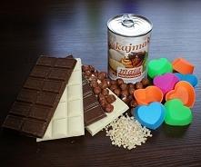 Domowe czekoladki. Zapraszam na post:) handmade-box.pl