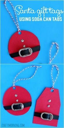 """super pomysł na """"bileciki"""" do prezentów by designsponge"""