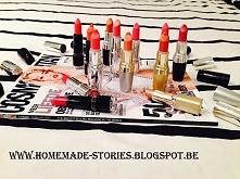 Czerwona szminka! Nr1 wśród szminek! Więcej zdjęć na moim blogu: homemade-sto...