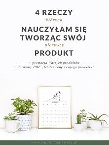 Linkowanie do sklepów + 4 rzeczy, których nauczyłam się tworząc swój produkt + darmowy pdf (wyceń swój produkt)