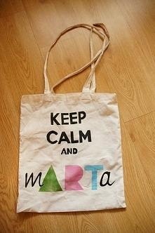 torba z moim własnym logiem :)
