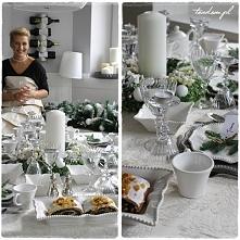 dekoracje świątecznego stołu zaproponowane przez tendom.pl