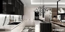 LOOK #33 | Projekt wnętrz apartamentu - luksusowa kuchnia
