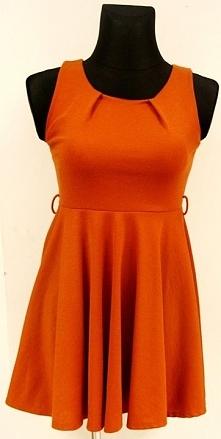 Piękna sukienka w kolorze c...