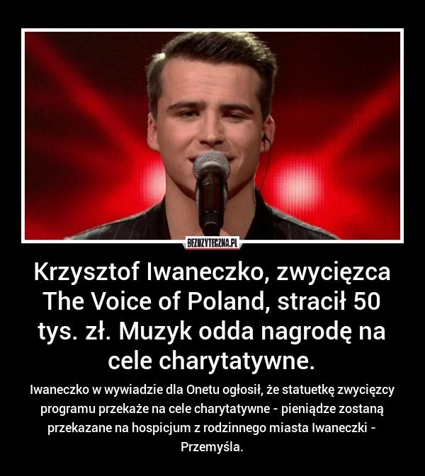 Gratulacje dla Krzysia :)