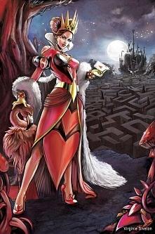 Czerwona Królowa z Alicji