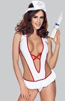 Roxana Nurse costume komplet Seksowna pielęgniarka, rozpali Twojego partnera,...