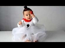 Przepis na szycie: Strój bałwanka dla niemowlaka