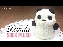 How to Make Panda Plush Using Socks! Kawaii Budget DIY