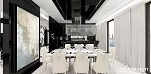 LOOK #69 | luksusowe wnętrze apartamentu - jadalnia