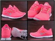 Różowe Nike