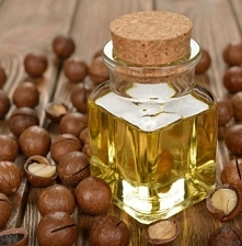 Olej macadamia, wytwarzany ...