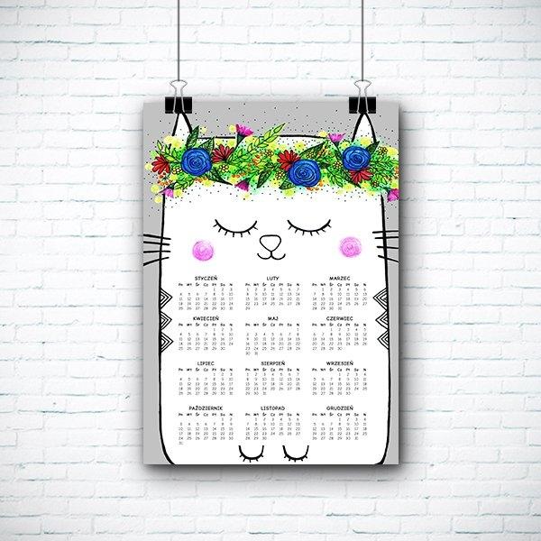 Kalendarz z kotem