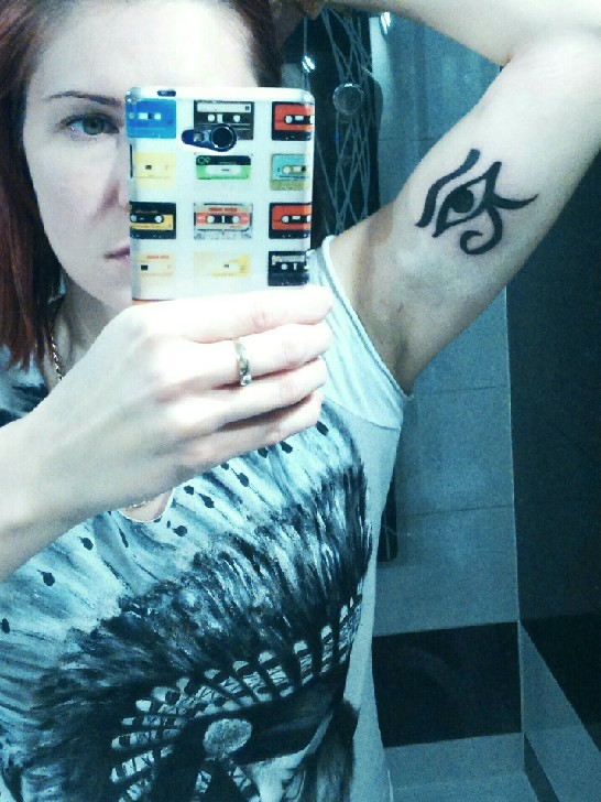 New Tattoo Oko Horusa Na Postępy Zszywkapl