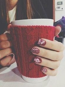 Świąteczne paznokcie.