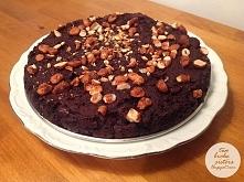 wegańskie brownie z czerwonej fasoli - pyszne, szybkie, łatwe