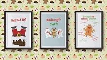 Świąteczne plakaty do wydrukowania.
