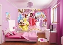 Fototapeta dla dzieci Walltastic FDW008 - Fairy Princess - Wróżki Księżniczki