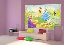 Fototapeta dla dzieci Consalnet 4-017 Disney - Księżniczki na łące