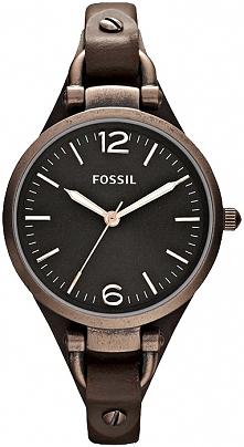 damski zegarek w stylu retro, wyjątkowa czekoladowa kolorystyka, poszerzany pasek