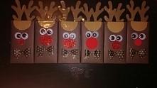 reniferki czekolady