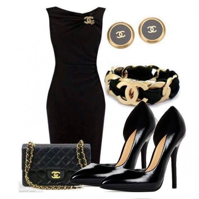 piękna elegancka stylizacja :)